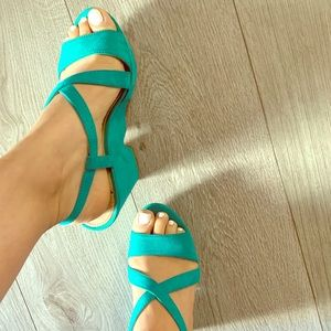 Summer wedge shoes 👠.